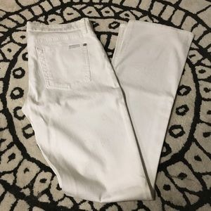 NWOT 7 For All Mankind skinny bootcut jean (30)